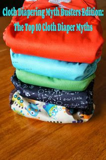 C, G & Mr. B: Family, Friends & Fun: The Top 10 Cloth Diapering Myths. This goes against so much of the information I've received, but I know some of these really are myths because I don't follow them.
