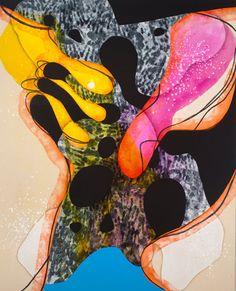 Carrie Moyer #Art: Interstellar