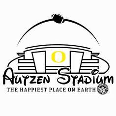 Wild Kingdumb - Autzen Stadium: The Happiest Place on Earth - Disney, Disneyland, Oregon Ducks