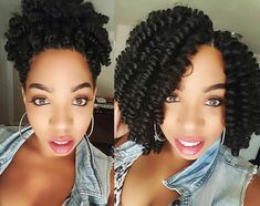 "20"" Saniya Curls Up or Down! Our Curlfriend @meggomeghan showing double beauty in her effortless curls!"