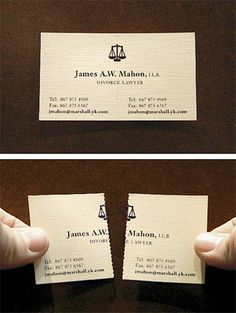 138 best advertising ideas images on pinterest in 2018 advertising simple graphic design clever execution divorce lawyer business cards colourmoves