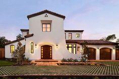 casas estilo español colonial de dos pisos - Buscar con Google