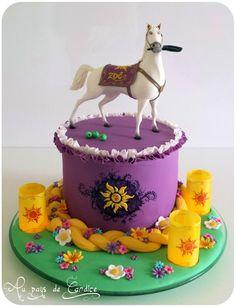 Maximus & Rapunzel cake - Cake by Au pays de Candice