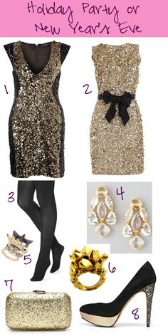 Holiday Fashion Guide: Holiday Party/New Year's Eve