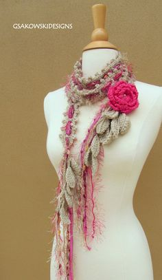 Hey, I found this really awesome Etsy listing at https://www.etsy.com/listing/92947624/queen-ann-rose-lariat-pink-nr-2