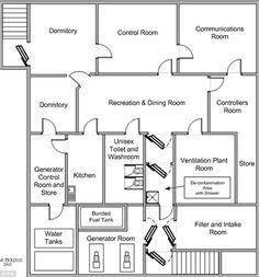 Family Bunker Plans 704180091725897819 - Cold War Secret Underground Bunker Up for Grabs! Underground Bunker Plans, Underground Living, Underground Shelter, Underground Homes, Survival Shelter, Wilderness Survival, Survival Prepping, Emergency Preparedness, Survival Skills