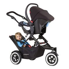 phil&teds DOT stroller for infant and toddler. dot  is the best stroller coming with the double kit included in the box! best value for your money!