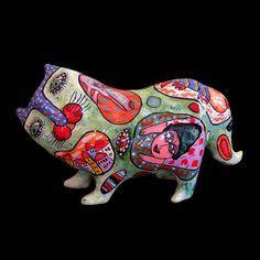Cat ceramic sculpture, gift for Cats lover, Cat Sculpture, Ceramic Cat, Clay Cat, Ceramic Statue, Ceramic Animals, Ceramic Figures