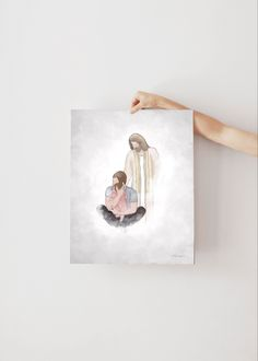 Dad Holding Baby In Heaven - Printable Art In Memory Of Dad, In Loving Memory, Printable Art, Printables, Funeral Gifts, Christmas In Heaven, Holding Baby, Baby Memories, Angels In Heaven