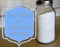 Easy Peasy DIY Dish Detergent