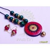 handmade-terracotta-jewelry-tsc202  Maitri Crafts www.maitricrafts.com https://www.facebook.com/maitricrafts.maitri