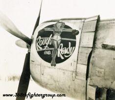 """Rough and Ready,"" P-47 ""Thunderbolt"""