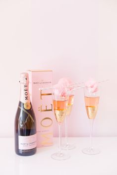 Cotton Candy Moet Champagne