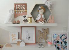 Nos inspiramos con una habitación Infantil de estilo nórdico en suaves tonos pastel. ~ The Little Club. Decoración infantil para bebés y niños.