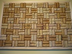 Cork Notice / Pin display Board handcrafted from by TheCorkArtCo