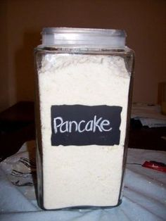 Pancake Mix , made it and it's so yummy.never buying boxed again! by dee