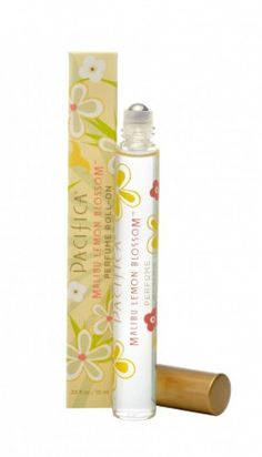 Pacifica lemon blossom roll-on perfume.  Need this for summer!