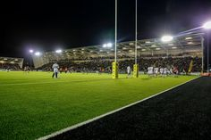 Newcastle Falcons Rugby Club.