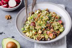Avocado Chicken Waldorf Salad - The Real Food Dietitians