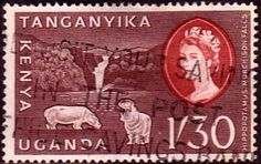 Postage Stamps Kenya Uganda Taganyika 1960 Animals and Plants SG 193 Fine Used Scott 130 For Sale Take a look