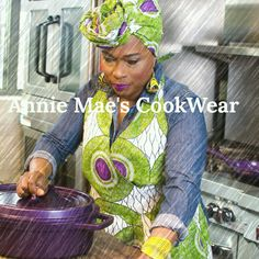 """Our Aprons are on Etsy....FREE SHIPPING ON ALL ITEMS....APRONS CAN BE PURCHASED ALONE AS WELL AS THE HEADWRAPS.. $10 OFF WHEN YOU PURCHASE BOTH TOGETHER USING CODE """"PREORDER"""" WHEN YOU PURCHASE FOR THE DISCOUNT.  https://www.etsy.com/shop/AnnieMaesCookwear?ref=hdr_shop_menu#AnnieMaesAprons #AnnieMaesCookWear #aboutthatkitchenlife #MadeInBrooklyn"""