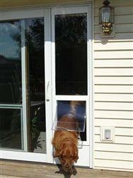 New Fast Fit Patio Pet Door Installation