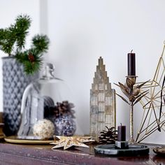 Paper Christmas Decorations, Scandinavian Christmas Decorations, Table Decorations, Scandi Style, Pink And Green, Display, Simple, Stylish, Design