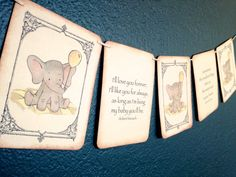 Hey, I found this really awesome Etsy listing at https://www.etsy.com/listing/162734790/vintage-baby-shower-banner-baby-elephant