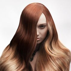 Long dip dye hairstyle   Hairstyles   Faseeon.com