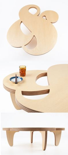 Ampersand coffee table