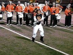2010 Massillon Tiger Swing Band Massillon Ohio, Paul Brown Stadium, Football Usa, Drum Major, My Town, Tigers, Memories, Band, Sweet