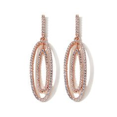 Victoria Wieck 1.86ct Absolute™ Double Curve Earrings