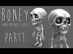 ZBrush 4R7 - Boney Part 1 - YouTube