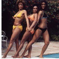Freda Payne, Eartha Kitt and Jayne Kennedy Jane Kennedy, Freda Payne, Ebony Magazine Cover, Detroit History, Jet Magazine, Eartha Kitt, Pretty Girl Swag, Pretty Girls, Black Goddess