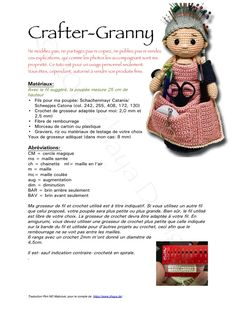 Craftergranny_en 1 pdf diana wodlinger has shared a file with you acrobat com – Artofit Crafter Granny Free Crochet Pattern s PATTERN Althaena and Chrysanna Fairy Crochet by epickawaii Crochet Baby Sweater Pattern, Crochet Dolls Free Patterns, Crochet Doll Pattern, Cute Crochet, Crochet Yarn, Crochet Hooks, Doll Patterns, Crochet Pincushion, Crochet Patterns Amigurumi