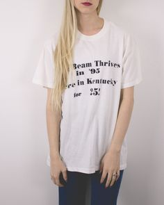 Vintage 1995 Jim Beam T Shirt