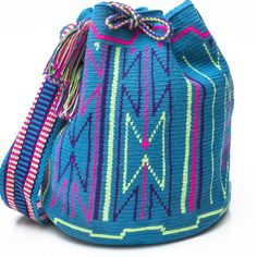 Cabo Authentic Wayuu Mochila Bag | WAYUU TRIBE – WAYUU TRIBE | Handmade Bohemian Bags