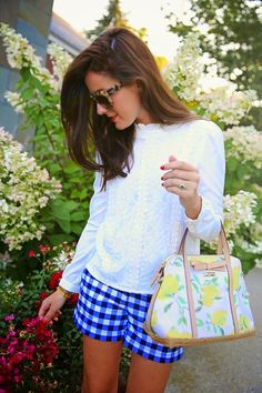 chic Saturday: Gingham Goes Glam