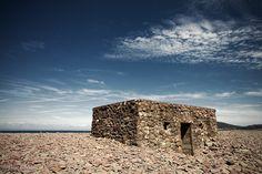 Porlock Weir pillbox, Somerset. ww2 coast defence, England.