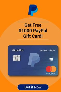 Paypal Gift Card, Gift Card Deals, Gift Card Giveaway, Free Gift Cards, Free Gifts, Paypal Hacks, Paypal Business, 1000 Gifts, Free Gift Card Generator