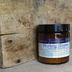 Working Woman's Hand Cream - lavender, geranium and lemon