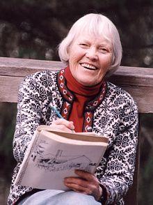 Rie Munoz, famous Alaskan Artist