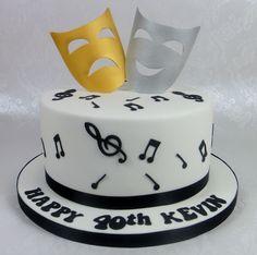 Themed Theatre Cake 07917815712 www.fancycakesbylinda.co.uk www.facebook.com/fancycakeslinda