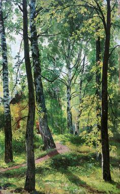 Лиственный лес 1897 62х41. Иван Иванович Шишкин