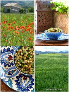 De plus vegan: marokkanischer Kichererbsensalat