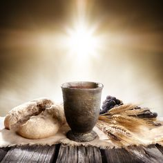 Photo about Communion - Unleavened Bread With Chalice Of Wine And Cross Light. Image of eucharist, wine, bread - 88711246 Lords Supper, Last Supper, Church Pictures, Jesus Pictures, Jesus Pics, Communion, Worship Backgrounds, Image Jesus, Holy Thursday