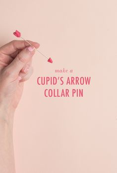 Make a Valentine's Day cupid's arrow pin