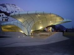 The Most Beautiful Train Stations In The World, this one is Hungerburgbahn, Innsbruck, Austria