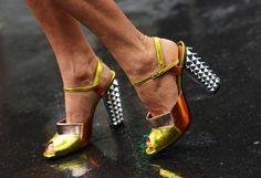 Paris FW Street Style Shoes 2012