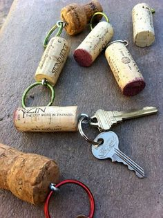 recycled key chain